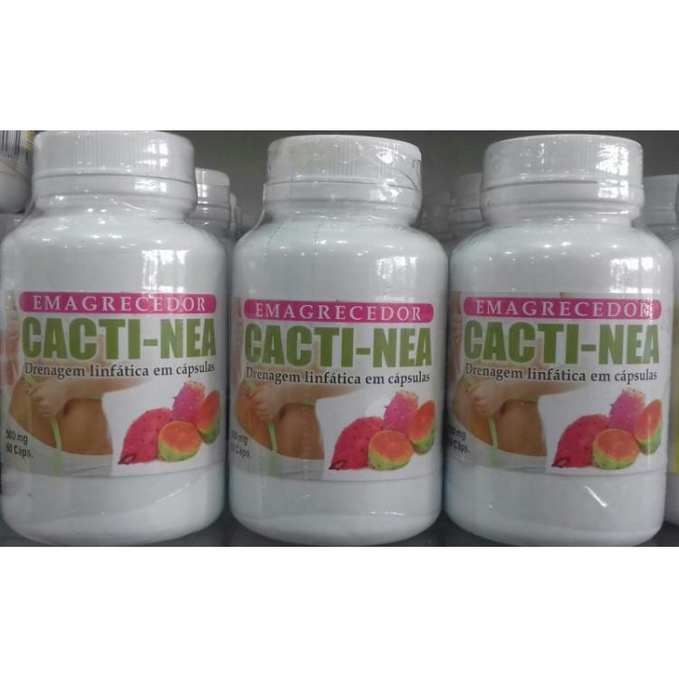 Cactinea 500mg frasco c/60Cápsulas